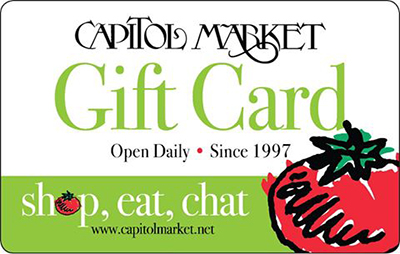 Capitol Market, a 7 day a week farmer's market in Charleston, West Virginia!